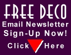 Free Deco Email Newsletter-Sign Up Now